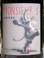Monsieur S - Rouge 2015 (Vin de Table - Vin de France - rouge)